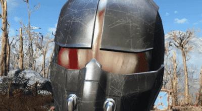 Fallout 4 — Черный шлем синтов | Fallout 4 моды