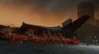 Left 4 Dead 2 — Санта Клаус вместо самолета [Dead Air] | Left 4 Dead 2 моды