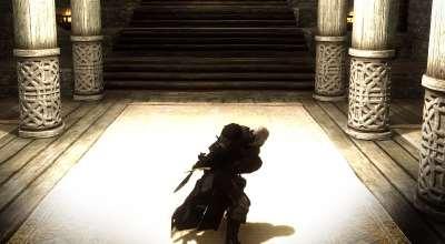 Skyrim — Новая анимация для двуручного оружия | Skyrim моды