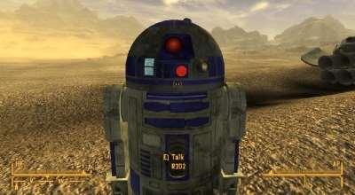 Fallout NV — Спутник R2D2 (Custom Robot Follower)   Fallout New Vegas моды