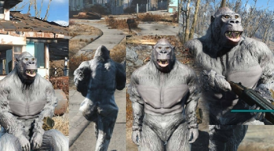 Fallout 4 — Броня Гориллы | Fallout 4 моды