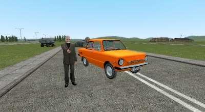 Garrys mod — ЗАЗ-968М «Запорожец» | Garrys mod моды