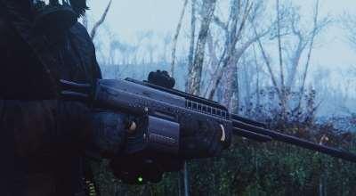 Fallout 4 — Ягуар MSX 200 LMG | Fallout 4 моды