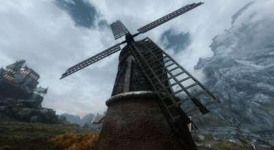 Skyrim — Реплейсер мельницы | Skyrim моды