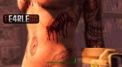 Fallout 4 — Новая кожа для ЖГГ (для CBBE) | Fallout 4 моды