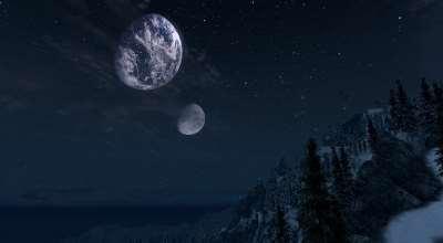 Oblivion — Реальные Земля и Луна | Oblivion моды