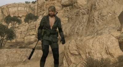 MGS V: TPP — Quiet Player | Metal Gear Solid V моды