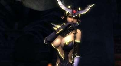 Oblivion — Броня демонической императрицы (Demon Empress) | Oblivion моды