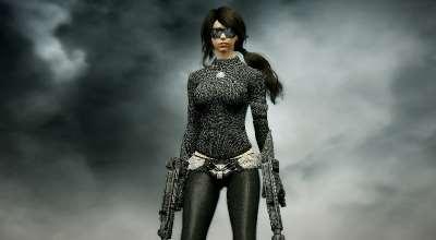 Skyrim — Спутница Молчунья из игры Metal Gear Solid V   Skyrim моды