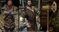 Skyrim — Производительные текстуры брони / одежды и оружия   Skyrim моды