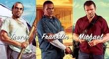 Фотография тех, кто озвучивал главных героев в GTA V