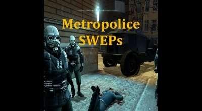 Garrys mod — Оружие Метрокопов