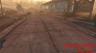 Fallout 4 — Чистые дороги в поселении | Fallout 4 моды
