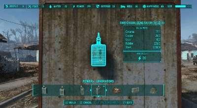 Fallout 4 — Распределительный щиток-генератор | Fallout 4 моды