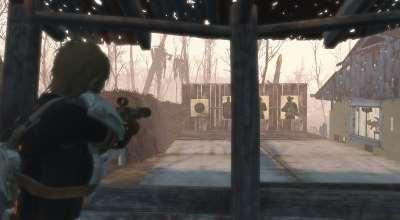 Fallout 4 — Мишени (Постеры)   Fallout 4 моды