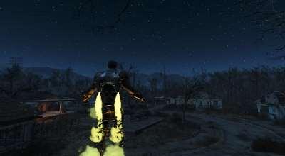 Fallout 4 — Боевая Броня с Джетпаком | Fallout 4 моды