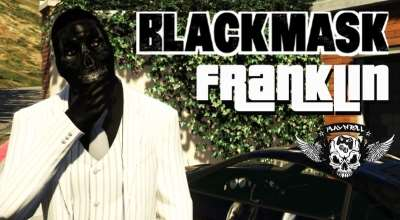 GTA 5 — Маска для Франклина (Black Mask Franklin — Batman Arkham Origins / Knight) | GTA 5 моды