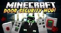 Minecraft — Двери с механическим и кодовым замками | Minecraft моды