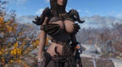 Fallout 4 — Броня когтя смерти (CBBE) | Fallout 4 моды