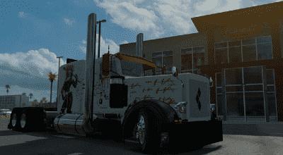 ATS — Скин Harley Quinn | American Truck Simulator моды