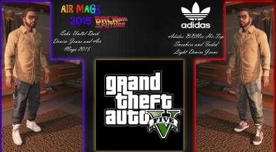 GTA 5 — Пак новой одежды для Франклина (Vans123's Modern Wardrobe) | GTA 5 моды