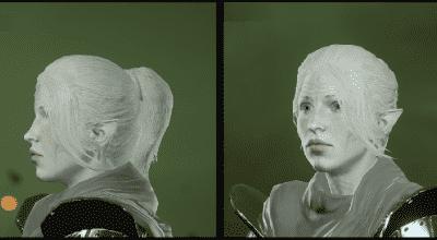 DA: Inquisition — Изменение причёсок Эльфиек | Dragon Age моды