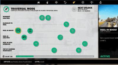 Just Cause 3 — Чит на разблокировку всех улучшений крюка и вингсьюта | Just Cause 3 моды