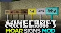 Minecraft — Moar Signs 1.9/1.7.10