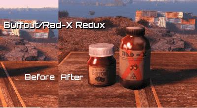 Fallout 4 — Реплейсер Рад-Х и Баффаута   Fallout 4 моды