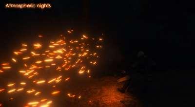 The Witcher 3 — Атмосферные ночи | The Witcher 3 моды