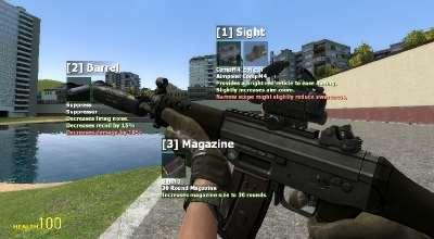 Garry's Mod 13 — Модификатор оружия FA:S 2.0 и новое оружие
