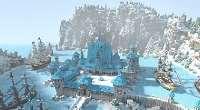 Minecraft — Arendelle Frozen — карта для 1.7.x | Minecraft моды