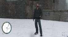 GTA IV — Реалистичная зима   GTA 4 моды