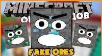 Minecraft — Fake (Monster) Ores | Minecraft моды