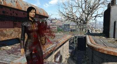 Fallout 4 — Улучшенная реалистичная кровь | Fallout 4 моды