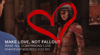 Fallout 4 — Компаньоны вас любят и не отвергают   Fallout 4 моды