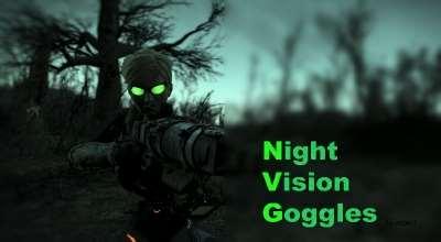 Fallout 4 — Очки Ночного Видения | Fallout 4 моды