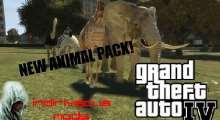 GTA IV — мод добавляющий животных   GTA 4 моды