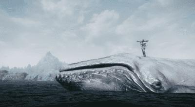 Skyrim — Море призраков (новые монстры) | Skyrim моды