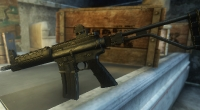 Fallout New Vegas — Автомат «ZM LR-300» | Fallout New Vegas моды