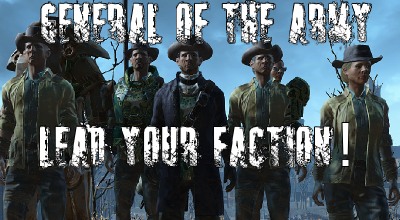 Fallout 4 — Генерал армии | Fallout 4 моды