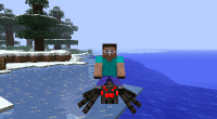Minecraft — Rideable Spiders / Приручение пауков | Minecraft моды