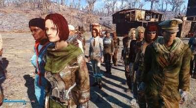 Fallout 4 — Улучшенные поселенцы | Fallout 4 моды