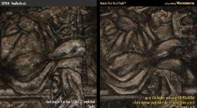 Skyrim — Ретекстур фресок в подземельях | Skyrim моды