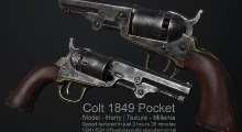 Fallout NV — Colt 1849 Pocket | Fallout New Vegas моды