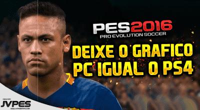 PES 2016 — Улучшение графики (Deixar o gráfico de PC igual de Playstation 4) | Pro Evolution Soccer моды