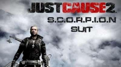 Just Cause 2 — Костюм Скорпиона | Just Cause 2 моды