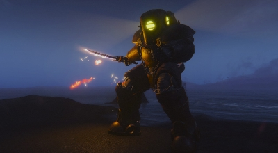 Fallout 4 — Силовая броня Большого Папочки | Fallout 4 моды