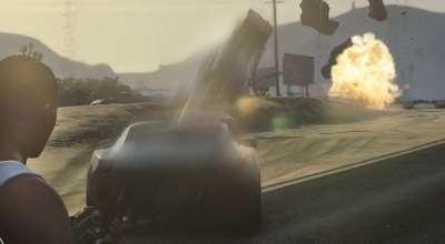 GTA 5 — Машины вместо пуль (Vehicle Cannon Mod) | GTA 5 моды