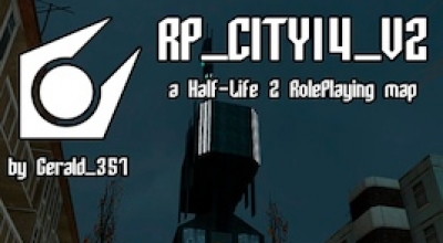 Garrys mod — Rp_City14 Night